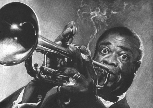 Louis Armstrong by kofkof